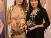Първи национален конкурс по ноктопластика - награждаване на победителя.