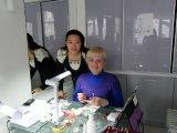 """Обучение по """"Дизайн с акрил"""" - III ниво, преподавател Наталия Остапенко"""