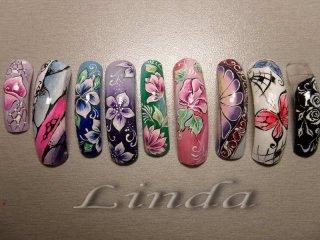"""Мострите ми от моето обучение по """"Дизайн с гел"""" при Елена Веретенко, проведено в известното и студио """"VELENA nail design LAB"""""""